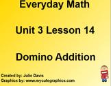Everyday Math EDM 1st Grade 3.14 Domino Addition