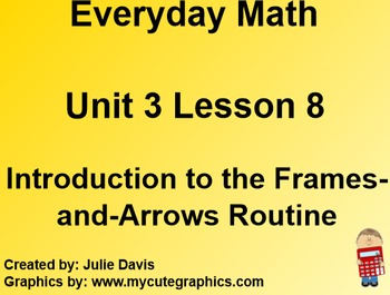 Everyday Math 1st Grade 3.8 Introduction to the Frames-and