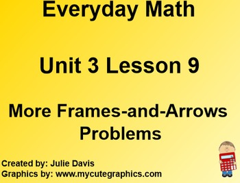Everyday Math 1st Grade 3.9 More Frames-and-Arrows Problems