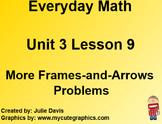 Everyday Math EDM 1st Grade 3.9 More Frames-and-Arrows Problems