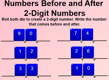 Everyday Math 1st Grade 4.10 Number Scrolls