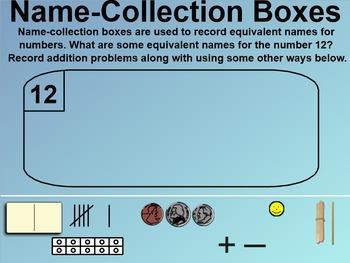 Everyday Math 1st Grade 6.2 Equivalent Names