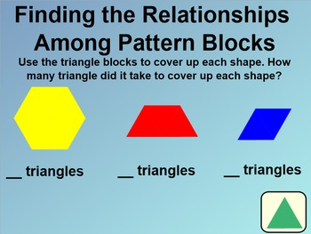 Everyday Math 1st Grade 6.7 Exploring Pattern Blocks, Addition Facts & Triangles