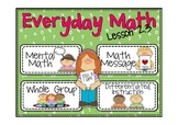 Everyday Math 2nd Grade Lesson 2.3 Doubles Facts