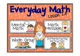 Everyday Math 2nd Grade Lesson 2.4 Turn-Around Facts and the +9 Shortcut