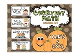 Everyday Math 2nd Grade Lesson 3.7 Making Change by Counting Up