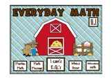 Everyday Math 2nd Grade Promethean Lesson 11.1 Addition Number Stories with $