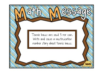 Everyday Math 2nd Grade Promethean Lesson 11.8 Multiplication/Division FF