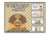 Everyday Math 2nd Grade Promethean Lesson 4.4 Temperature Changes