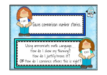 Everyday Math 2nd Grade Promethean Lesson 6.2 Comparison Number Stories