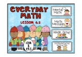 Everyday Math 2nd Grade Promethean Lesson 6.2 Comparison N