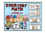 Everyday Math 2nd Grade Promethean Lesson 6.2 Comparison N