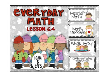 Everyday Math 2nd Grade Promethean Lesson 6.4 Addition and Subtraction Stories
