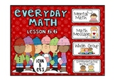 Everyday Math 2nd Grade Promethean Lesson 6.6 Exploring Arrays Coins Division