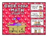 Everyday Math 2nd Grade Promethean Lesson 7.8 Frequency Distribution