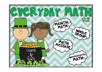 Everyday Math 2nd Grade Promethean Lesson 9.2 Linear Measures