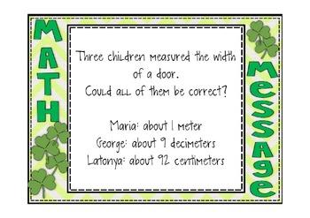 Everyday Math 2nd Grade Promethean Lesson 9.5 Measuring Longer Distances
