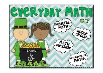Everyday Math 2nd Grade Promethean Lesson 9.7 Area