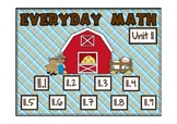 Everyday Math 2nd Grade Promethean Unit 11 Pack