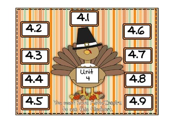 Everyday Math 2nd Grade Promethean Unit 4 Pack