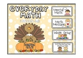 Everyday Math 2nd Grade Promethean lesson 4.8 Paper and Pencil Addition