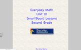 Everyday Math 2nd Grade SmartBoard Lessons Unit 10