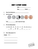 Everyday Math 2nd Grade Study Guide - Unit 1
