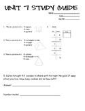Everyday Math 2nd Grade Study Guide - Unit 7