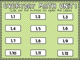 Everyday Math 2nd Grade Unit 1 Pack
