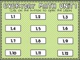 Everyday Math 2nd Grade Unit 1 Pack