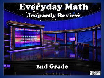 Everyday Math 2nd Grade Unit 3 Jeopardy Review Game