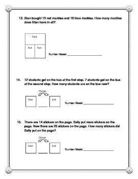 Everyday Math 2nd Grade Unit 4 Practice Test