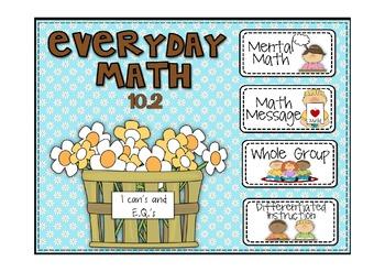 Everyday Math 2nd Grd Promethean Lesson 10.2 Decimal Notat