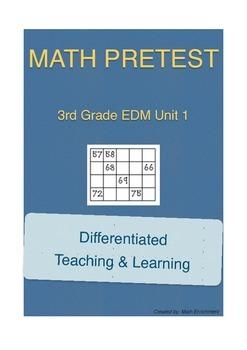 Everyday Math 3rd Grade Unit 1 Pretest