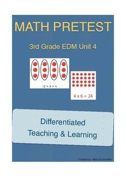 Everyday Math 3rd Grade Unit 4 Pretest