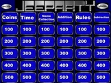 Everyday Math 3rd grade Chapter 1 Review jeopardy ppt game