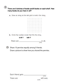 Everyday Math 4 - 3rd Grade Unit 2 Review