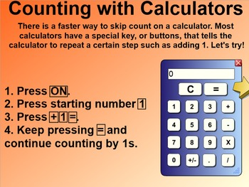 Everyday Math 4 Common Core Edition 7.5 Count & Skip Count with Calculators