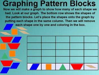 Everyday Math 4 Common Core Edition Kindergarten 3.1 Pattern Block Graph