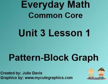 Everyday Math 4 Common Core Edition Kindergarten 3.1 Pattern Block Graph