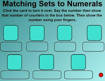 Everyday Math 4 Common Core Edition Kindergarten 3.10 Number Card Activities