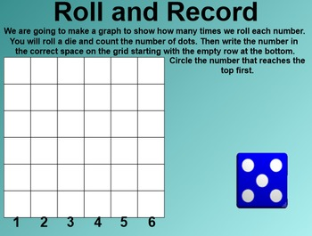 Everyday Math 4 Common Core Edition Kindergarten 3.11 Roll and Record
