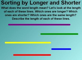 Everyday Math 4 Common Core Edition Kindergarten 3.5 Longer or Shorter