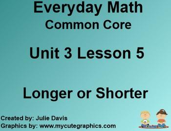 Everyday Math 4 Common Core Edition Kindergarten 3.5 Longe