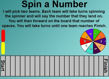Everyday Math 4 Common Core Edition Kindergarten 3.8 Spin a Number