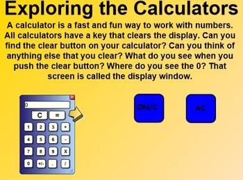 Everyday Math 4 Common Core Edition Kindergarten 4.4 Meet the Calculator