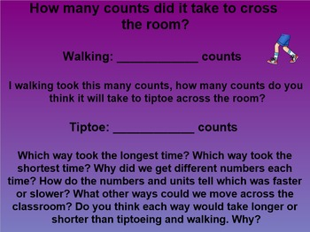 Everyday Math 4 Common Core Edition Kindergarten 8.3 Counting to Measure Time