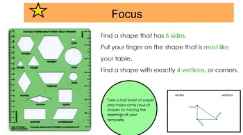 Everyday Math 4, Common Core, Unit 1 First Grade Interactive Lessons