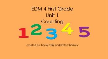 Everyday Math 4, Common Core, Unit 1 First Grade Interacti