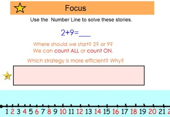 Everyday Math 4, Common Core, Unit 3 First Grade Interactive Lesson